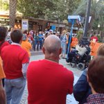 Ayer en apoyo a la Plataforma de la Dependencia de Alicante; hay cuestiones que responden a derechos no a siglas http://t.co/1yFWqSVxQg
