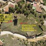 14)d 15)DAÑOS:Ocupación ilegal zona arqueologica-Clavarpancarta Torre sXV @isabel_mdt @JuanLuisArsuaga @ZarzalejosMar http://t.co/8ylnXenJQA