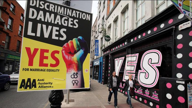 Ireland goes to polls on historic vote on same-sex marriage. http://t.co/QbqfF5T13P