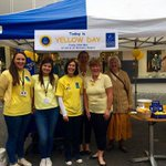 Our Fundraising Team are at The Malls in #Basingstoke for #YellowDay Come down and say hello! http://t.co/xKAP57wWk6