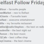 Happy Friday! The Best of Belfast #FF  Have a great weekend http://t.co/xeghruq4c7