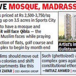 """Did #Presstitutes who are crying 4 refusing employment due to being Muslim ever cry on the """"Muslim Only"""" apartment ? http://t.co/8N6st1wMNH"""
