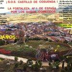 Castillo Cosuenda-Zgz: EL MONUMENTO MAS DAÑADO DEL MUNDO? @JuanfraEscudero @jatirado @red_historia @revistadehisto http://t.co/CBd81CAa7U