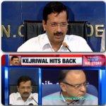 Delhi CM @ArvindKejriwal hit back .. After centre issue Notification ..#ModiMurdersDemocracy to save corrupts ? http://t.co/qZ6Fm6WjcB