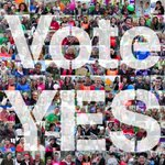 #VoteYes is now the top trend Worldwide! Ireland is standing up. Lets do this! http://t.co/3sZMInLD2z