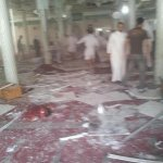 GRAPHIC pics via @Ibrahimhalawi http://t.co/YUNRDfz014 blast and its aftermath in Qatif mosque, Saudi Arabia