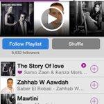أغنيه #قصه_حب تتصدر المرتبه الأولي في مصر علي تطبيق أنغامي @anghami http://t.co/syup3zCsfb