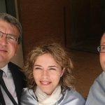 Con @martamartirio y @carlescortescat en el acto de clausura de la @UA_Universidad http://t.co/0iCgd9BpKp