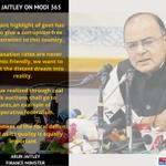 Finance Minister Arun Jaitley lists the achievements of the Modi govt as it completes 1 year of governance #Modi365 http://t.co/LXj2qRuTAM
