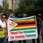 #CricketComesHome No small number of people at Gaddafi say theyre supporting Zimbabwe today. #CricketComesHome http://t.co/DyE6pRgWi1