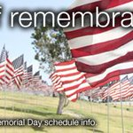 Most #MBTA svc operating a Sunday sked on #MemorialDay. See http://t.co/5LyrlfyLqq for full info. #DayOfRemembrance http://t.co/vLUSV4rtlX