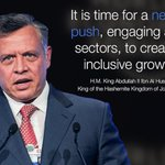 HM King Abdullah II Ibn Al Hussein, delivered his speech during the Opening Address of #MENA15 #JordanWEF #Jordan http://t.co/yJacNf3Nf4