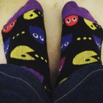 If u grew up in the 80s like I did, u probably have a soft spot for Pac Man. He's 35 today! In his honor, happy feet