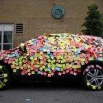 Boston headmaster's car covered with notes of appreciation as senior prank http://t.co/4PjHieoWXX http://t.co/q5SzUOJ1yZ