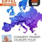 Conférence avec Alain Juppé le 3 juin 2015 sur le Campus Eiffel : Comment panser lEurope pour la repenser ? http://t.co/GKJuVTg1Fp