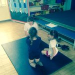 6RM teaching 1/2KS about being healthy and some exercises to strengthen their muscles #youngleaders http://t.co/mWY23m3dPA
