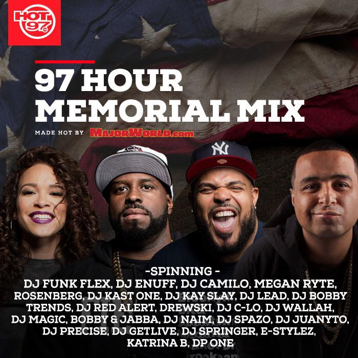 I will be rockin on @hot97 for the Memorial Day All Mix Weekend! 6am this Sunday after TAJ! Tune in! http://t.co/Vo7kyMfw8h