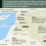 Palmira, Siria, patrimonio de la humanidad, no es la primera ciudad que destruye el Estado Islámico http://t.co/DIGZHI0rBY #Global