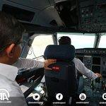 """Başbakan Davutoğlu, Özel uçak """"ANA"""" nın kokpit camından Ordu-Giresun Havalimanını inceledi. http://t.co/iaFkTsPGEB http://t.co/6Awj8WdGCW"""