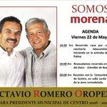 Buen día, comparto la agenda para hoy viernes @tabascovaconrum @TabascoHOY @laverdadmx @DiarioPresente_ @VTamfm http://t.co/HsF9cb719w