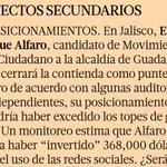 Por publicar que @EnriqueAlfaroR gasta 5.5 millones en redes seguro @eleconomista será quemado X @MovCiudadanoJal http://t.co/cPs2SdR8qO