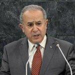 """Ramtane Lamamra : il ne reste en #Algérie """"que des résidus de #terrorisme"""" http://t.co/3xAt4xsLTX http://t.co/hIIZ0W55iA"""