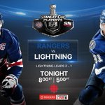 Were just a few hours away from puck drop in Tampa. Tune in #StanleyCup Playoff action on CBC & #RGCL http://t.co/z8w94rSJ4J