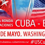 Today: Second session #US-#Cuba conversations starts in #Washington DC #USCuba http://t.co/lwH6qe0RN8