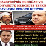 Gazeteci @Deniz_Zeyrekin Diyanet ve RTEye Mercedes tepkisinin paylaşım rekoru kırdığını biliyor musun? http://t.co/ilRrCMDEiH