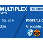 Samedi sportif ! Demain le @GF38_Officiel joue la montée en National, le @FCGrugby joue le maintien en Top14 #FBSport http://t.co/eVg6eoL8Ka