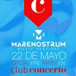Ya tienes plan para esta noche!!! Hoy sábado Pre FIESTA #marenostrum!!! os esperamos!!! #alicante http://t.co/Ujg4JNxoZa