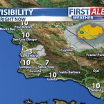 Heads up as you head out the door Santa Maria! Very dense fog sitting over the city, drive safe. Details NEXT #Fox11 http://t.co/MItuu7Fr3d