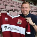 Northampton Town have signed Burys Nicky Adams on a free transfer, Adams signing a 3 yr deal at Sixfields #ProudToBe http://t.co/oV1QFc5aFU