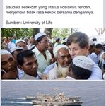 Turkey voluntarily helps the Rohingya. What a leadership. God bless Turkey ! http://t.co/VLkpDEWOOy