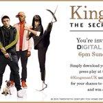 RT @TaronEgerton: Hey guys! Join @KingsmanUK on Sunday at 6pm GMT to celebrate the release of #KingsmanDigitalHD!