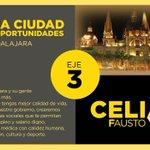 """@CeliaFausto lograremos con tu voto """"Una Ciudad de Oportunidades"""" en #Guadalajara vamos #PonerOrdenGDL #TuVozEsMiVoz http://t.co/giFfO0vzW7"""
