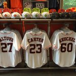 Chance to win @MajesticOnField #Astros jersey from our Astros Team Store? RT or tweet #JerseyDayHOU before 10p CT! http://t.co/KW3RxjAGjO
