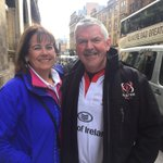 Great to see so many Ulster fans in Glasgow this afternoon! http://t.co/a4gJROaXuG