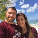 Happy Maroon Friday from the Browns on our honeymoon in Cozumel! http://t.co/AFoqyDbQ3k