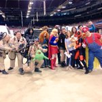 The super heroes of St. Louis are ready for @WizardWorld! #ComicCon #Superman #Ghostbusters http://t.co/5y9LOYFvNR
