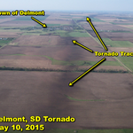 Photos of the Delmont tornado track that show show things that NWS Meteorologists look for during damage surveys! http://t.co/PgGuOqA4Gk