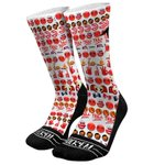 These socks, featuring the emojis from our Emoji Keyboard, are on sale here: http://t.co/kadjFKSIK0 #TrueToAtlanta http://t.co/TzdOFx3HWr