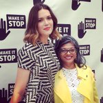 With @indranis_light, an absolute inspiration & leader in the fight to end violence against women. #Makeitstop #GBV