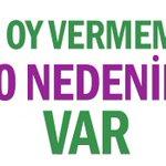 HDP ye oy atmamak için 10 nedenim var... http://t.co/ayOfhXLGuo http://t.co/55aOZKmqV6