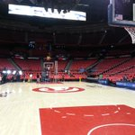 The calm before the storm..tip off in 3 and a half hours. #TrueToAtlanta http://t.co/kMDAzUi2oo