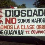 """Diosdado en Guayana llamó mafiosos a la Clase Trabajadora x eso le tiene mucho """"cariño"""" #ElPuebloNoApoyaANarco http://t.co/tNEAwn2x3u"""