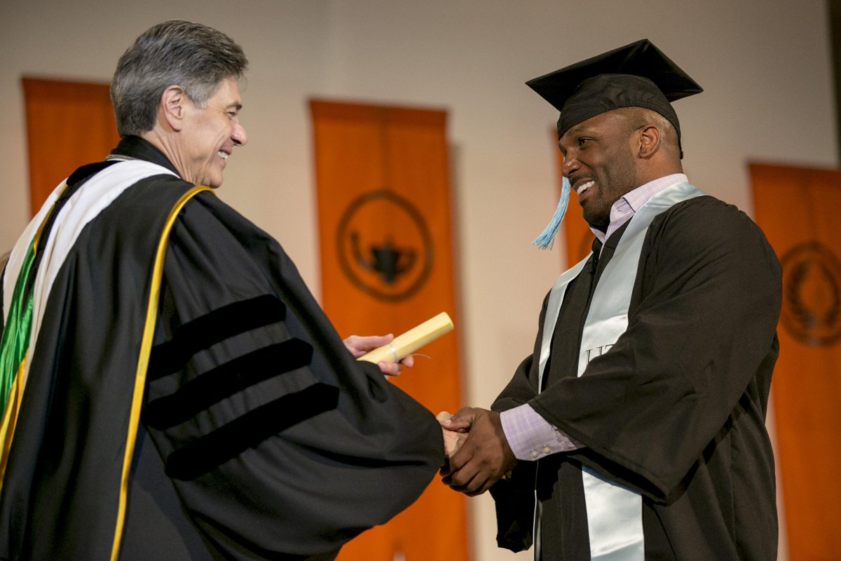 Proud of all grads, like NFL champ @priestholmes.  Read about his inspiring journey http://t.co/EBYwK7TRv7 #UTGrad http://t.co/Tus62Tqefm