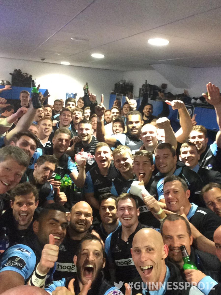 What an ending! Congrats to @GlasgowWarriors , they're on their way to the #GUINNESSPRO12FINAL http://t.co/5OKkV2YtXV