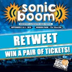 Its another #SONiCBOOM2015 Weekend! RT to be instantly entered to win a pair of GA tix! Winner drawn on Tues. #yeg http://t.co/xlkG3nxuws