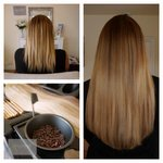 """Gorgeous result on one of todays lovely ladies; 20"""" Micro Rings, 100% Remy Human Hair AAAA Grade #blonde #ipswich http://t.co/A1u5NI2Whm"""